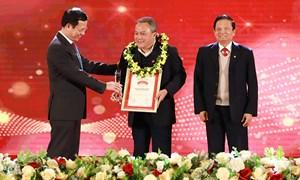 Agribank tiếp tục xếp trong TOP 10 doanh nghiệp lớn nhất Việt Nam năm 2020