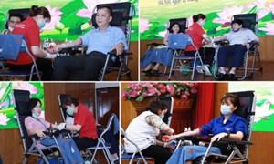 Cán bộ, công chức cơ quan Kho bạc Nhà nước thiết thực hưởng ứng chương trình hiến máu tình nguyện