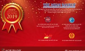 Agribank đứng thứ 190 – xếp hạng cao nhất trong các ngân hàng Việt Nam tại bảng xếp hạng Brand Finance Banking 500