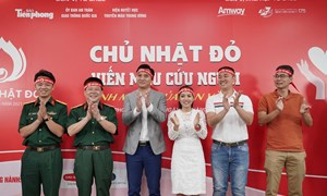 Amway Việt Nam tiếp tục đồng hành cùng Chương trình hiến máu Chủ nhật đỏ năm 2021