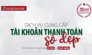 Agribank kích hoạt dịch vụ tài khoản thanh toán số đẹp