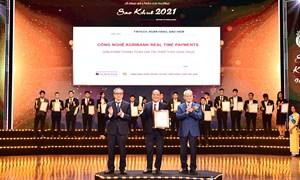 Agribank Realtime Payments đạt Giải thưởng Sao Khuê 2021
