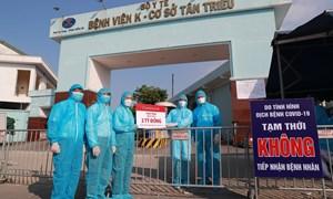 Agribank hỗ trợ các bệnh viện tuyến đầu phòng, chống dịch bệnh Covid-19