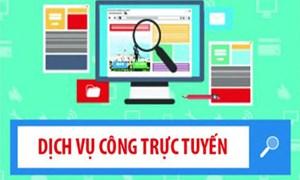 Đơn vị đăng ký sử dụng dụng dịch vụ công trực tuyến tăng mạnh