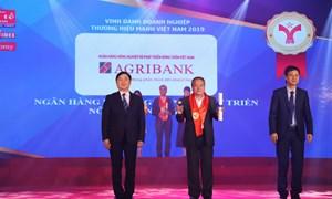 Agribank tự hào được vinh danh Thương hiệu mạnh năm 2018