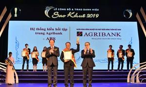 Lần thứ 4 Agribank vinh dự nhận giải thưởng Sao Khuê 2019
