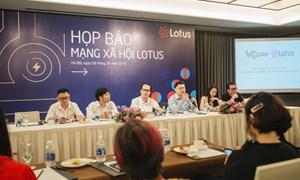 Ra mắt mạng xã hội của người Việt - Lotus.vn