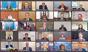 Tiến trình Hội nghị Bộ trưởng Tài chính APEC 2021: Chung tay hành động cùng phát triển