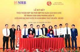 SHB cụ thể hóa cam kết phối hợp thu ngân sách với Kho bạc Nhà nước