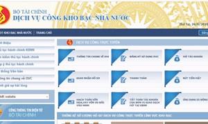 Kho bạc Nhà nước hoàn thành vượt mục tiêu kế hoạch tích hợp dịch vụ công trực tuyến năm 2020