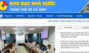 """Kho bạc Nhà nước TP. Hồ Chí Minh cơ bản hoàn thành mục tiêu chuyển đổi sang """"kho bạc điện tử"""""""