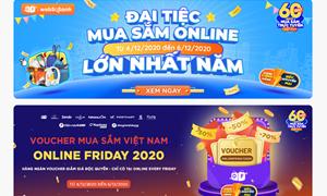 """Sắp diễn ra """"60 giờ mua sắm trực tuyến Việt Nam"""