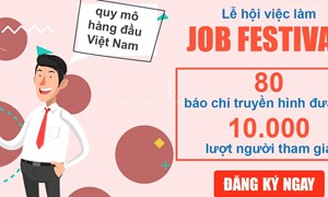 Job Festival – Cơ hội để doanh nghiệp quảng bá thương hiệu