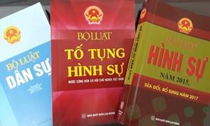 Luật hóa các quyền về con người  ở Việt Nam