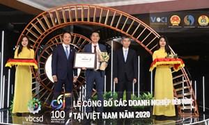 Amway Việt Nam tiếp tục lọt vào Top 100 doanh nghiệp phát triển bền vững