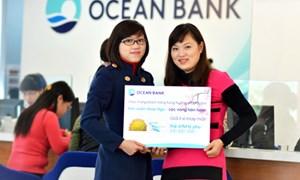 """OceanBank quay thưởng """"Đón xuân Giáp Ngọ, lộc vàng hân hoan"""" đợt 2"""