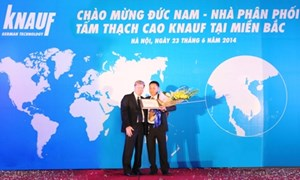 Knauf Việt Nam mở rộng thị phần ra miền Bắc