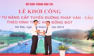 VietinBank tài trợ 5.909 tỷ đồng để nâng cấp tuyến đường Pháp Vân – Cầu Giẽ