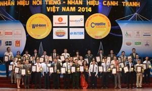 VietinBank nhận cú đúp giải thưởng Nhãn hiệu nổi tiếng năm 2014