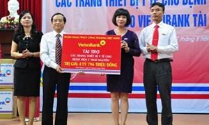 VietinBank tài trợ gần 4,8 tỷ đồng tại Bệnh viện C Thái Nguyên