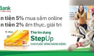 VPBank ra mắt thẻ tín dụng VPbank StepUp dành cho giới trẻ