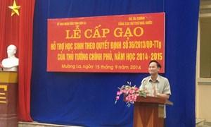 Gạo dự trữ quốc gia đã về nơi đặc biệt khó khăn của Sơn La
