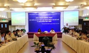 Bảo hiểm xã hội ở Việt Nam và định hướng phát triển