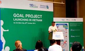 Standard Chartered khởi động dự án Goal tại Việt Nam