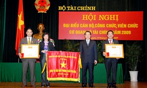 Người cán bộ tận tâm với công tác thi đua khen thưởng của ngành Tài chính
