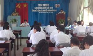 Bà Rịa - Vũng Tàu: Tiếp tục củng cố, kiện toàn nâng cao chất lượng hệ thống khuyến nông
