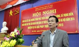 Hà Nội: sẽ hỗ trợ đầu tư cơ sở hạ tầng và công nghệ cao trong chăn nuôi
