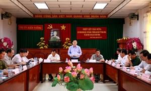 Ban Kinh tế Trung ương làm việc với Tỉnh Long An về phát triển kinh tế - xã hội