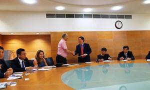 Trưởng Ban Kinh tế Trung ương thăm và làm việc tại Vùng Negev, Israel