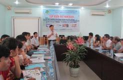 Tập huấn bồi dưỡng phương pháp khuyến nông và kỹ thuật sản xuất lúa chất lượng