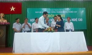 Hội nghị hợp tác nông nghiệp ứng dụng công nghệ cao