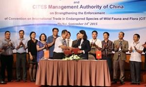 Việt Nam và Trung Quốc thỏa thuận bảo vệ động vật hoang dã