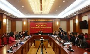 Ban Kinh tế Trung ương giới thiệu ứng cử Đại biểu Quốc hội khóa XIV