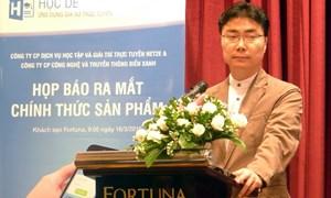 Net2e ra mắt ứng dụng gia sư trực tuyến đầu tiên tại Việt Nam