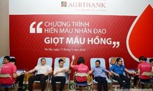 Agribank: 225 đơn vị máu và những tấm lòng cao cả