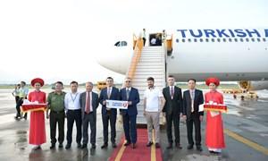 Turkish Airlines tiếp tục khai thác đường bay thẳng đến Hà Nội