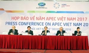 Hướng đến một APEC vì tất cả các thành viên, vì dân và vì doanh nghiệp