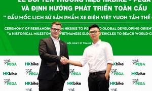 Kỳ vọng trở thành thương hiệu tỷ đô HKbike đổi tên thành PEGA