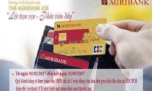 """Lộc trọn vẹn – Phúc tràn đầy""""  cùng thẻ Agribank JCB"""