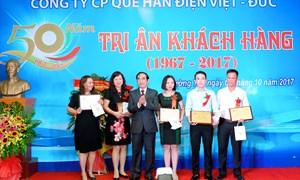 50 năm khẳng định thương hiệu Que hàn điện Việt - Đức