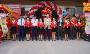 Auchan khai trương siêu thị thứ 4 tại Hà Nội