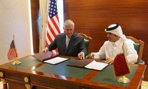 Mỹ và Qatar thống nhất tăng cường chống tài trợ khủng bố