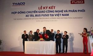 THACO – Nhà tổng phân phối các sản phẩm FUSO tại Việt Nam