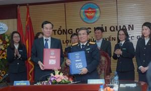 Tổng cục Hải quan ký hợp tác thu thuế điện tử với 6 ngân hàng