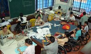 """Giải """"cơn khát"""" vốn cho người khuyết tật sản xuất, kinh doanh"""