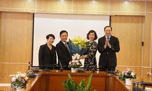 Ủy ban Chứng khoán Nhà nước và Deloitte Việt Nam  hợp tác đào tạo nguồn nhân lực